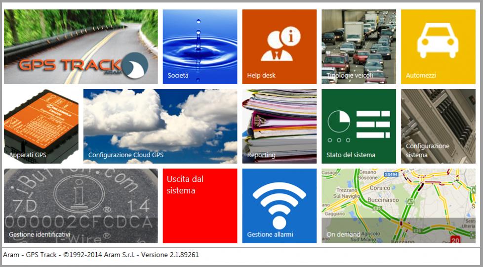 software localizzazione veicoli gps