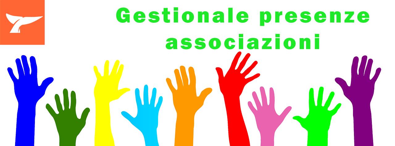 Registrazione Presenze Volontari o Associati